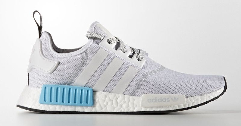 brand new 34399 a68a0 Adidas NMD White Blue | F O O T W O R K in 2019 | Adidas nmd ...