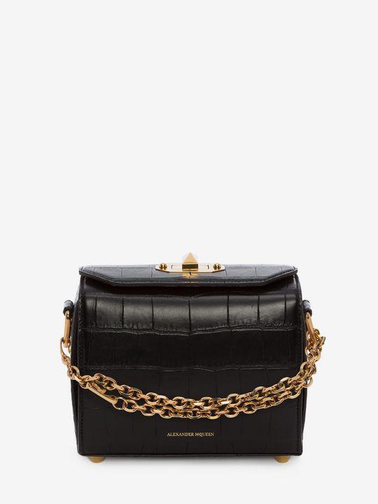 Shop Für Sie Box Bag 19 im offiziellen Online Store des ikonischen Fashion-Designers Alexander McQueen.