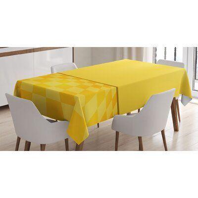 East Urban Home Shades of Lemon in Every tone CHeartss Room Interior Tablecloth East Urban Home Sha