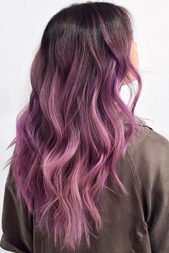 67 tempting and attractive purple hair looks hair face and nails cheveux coloration. Black Bedroom Furniture Sets. Home Design Ideas
