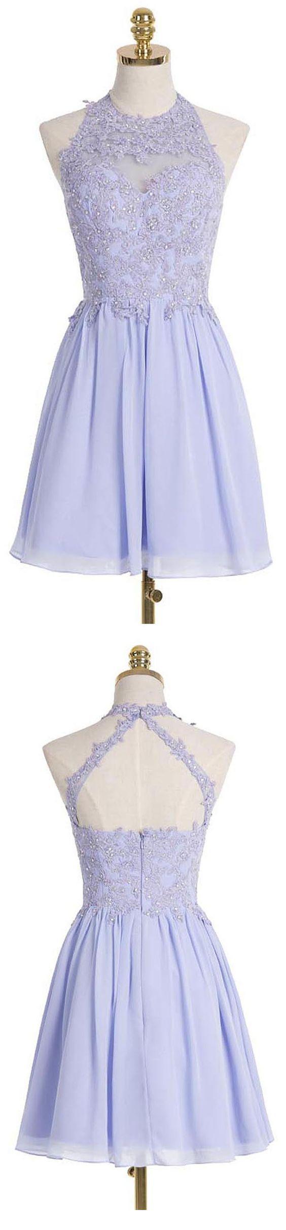 Charming prom dresschiffon prom dressesshort homecoming dresssexy