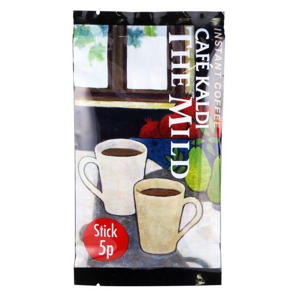 カルディのインスタントコーヒー「ザ・マイルド」は苦みの少ないスティックタイプ