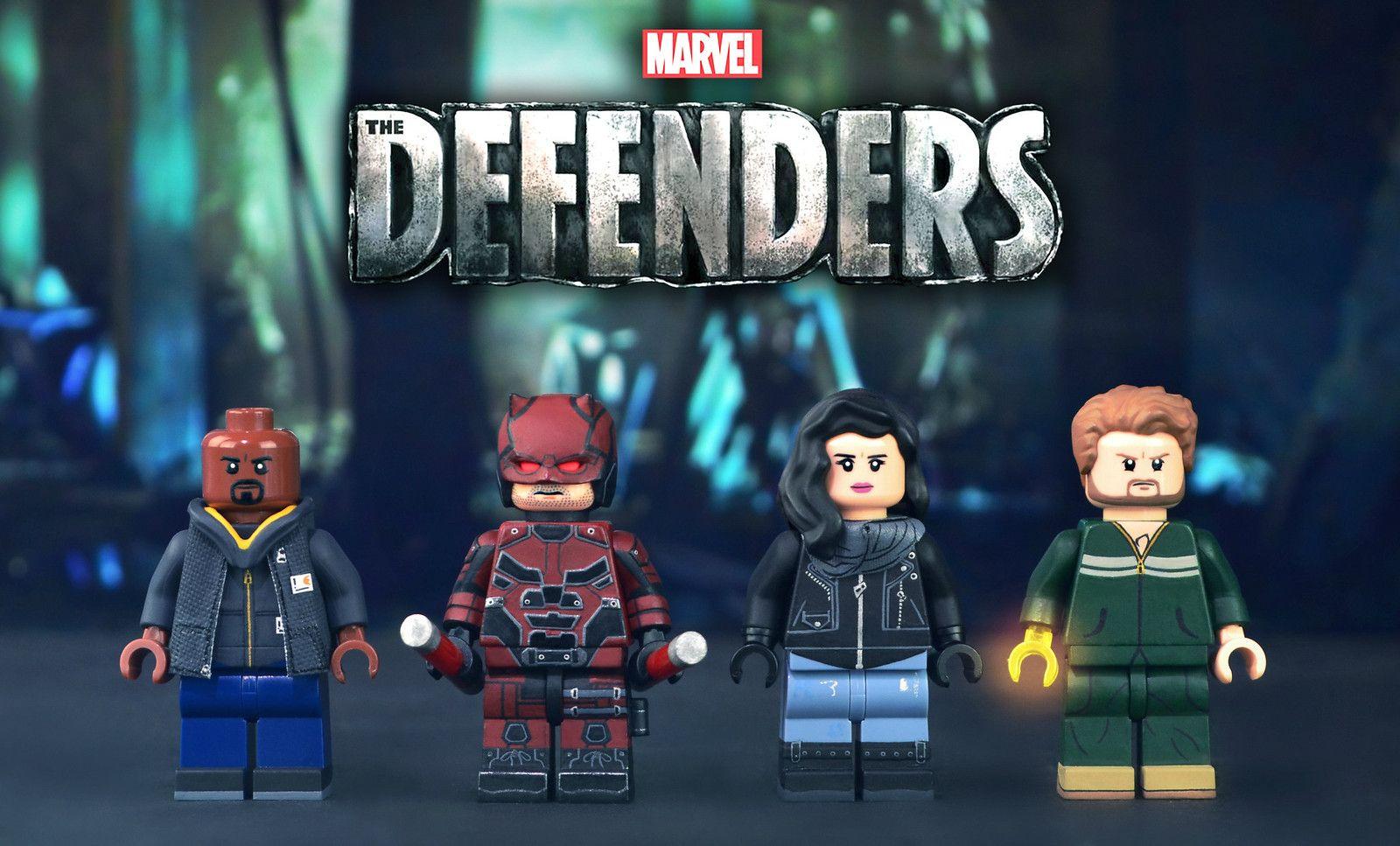 Lego type mini figurine serie marvel dardevil