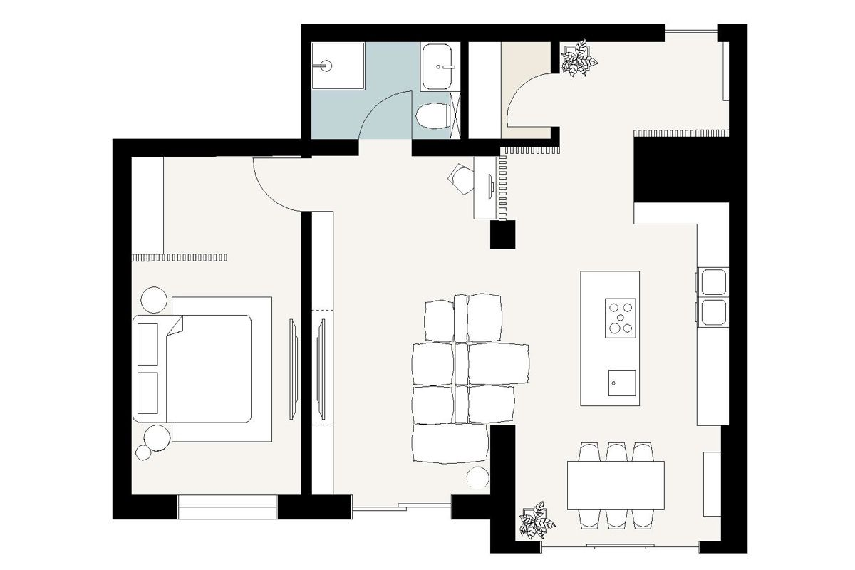 Stunning Modern Home Designs Under 70 Sqm Modern House Design