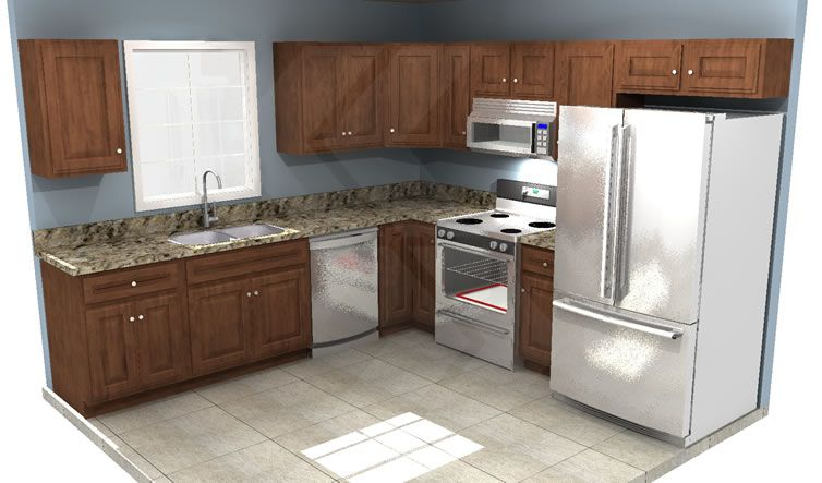 Budget is a huge factor when designing a kitchen or bathroom and cabinets can take up a large chunk of your remodeling budget.  We thought it would be extremely helpful to show you real customers' kitchens, what they spent on the cabinets, and what affected the cost.
