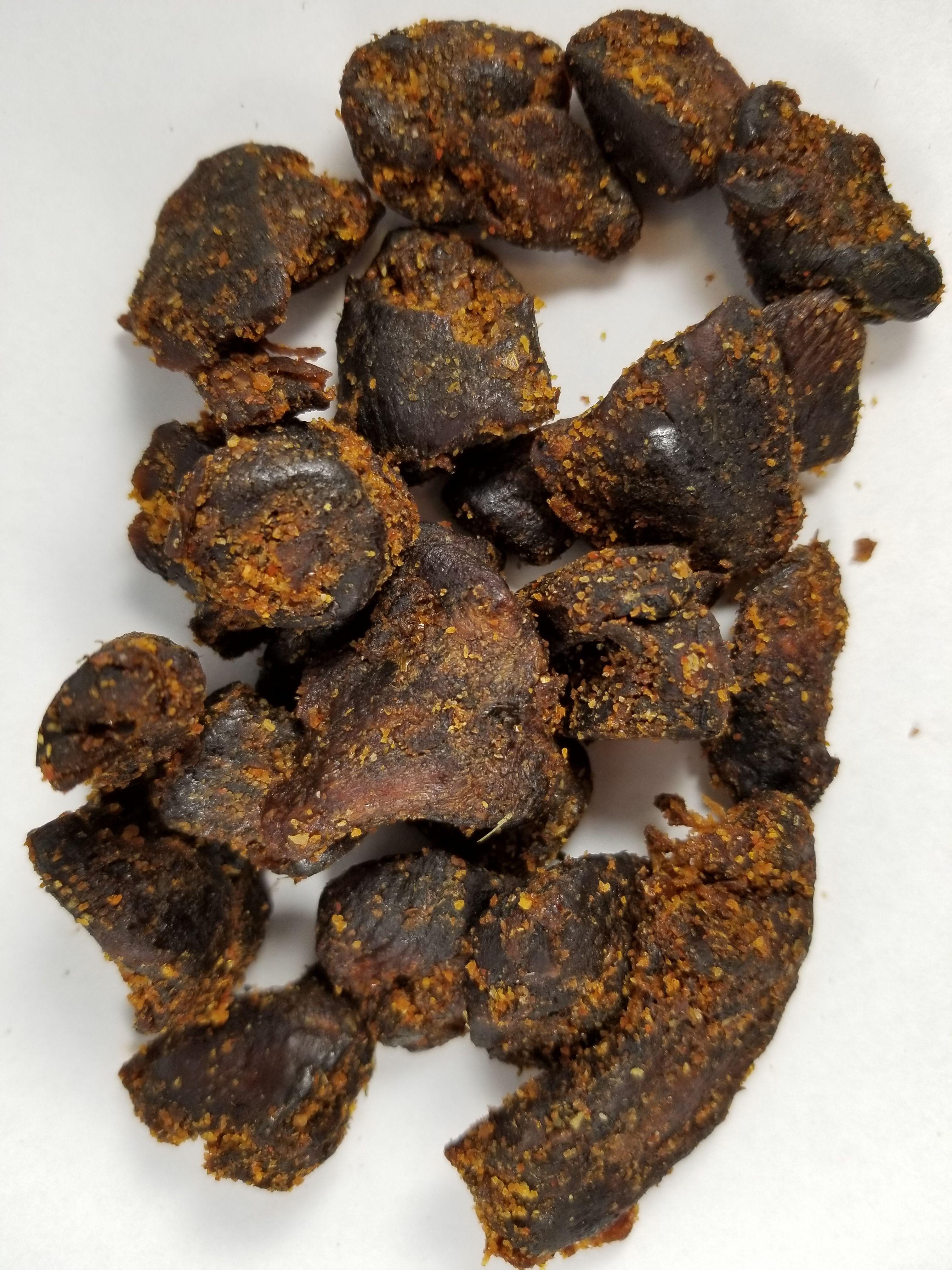Pan's Mushroom Jerky Zesty Thai Mushroom Jerky (Review