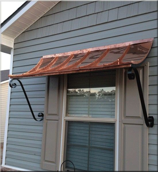 undefined | Door awnings, Window awnings, Copper awning