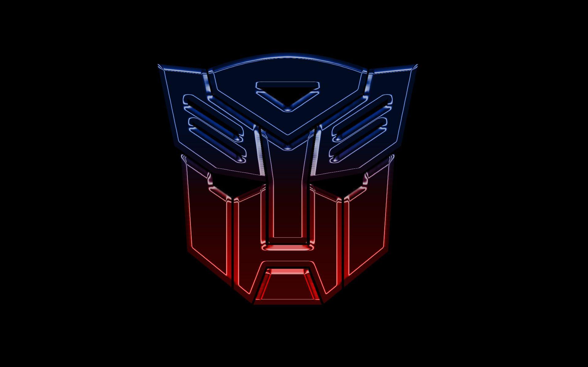 hd wallpaper of transformers autobots logo widescreen wallpaper