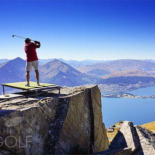 ملعب جولف على ارتفاع جنوني