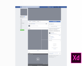2017 Facebook Fan Page Mockup | Free Mockups in 2019