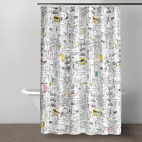Dkny Broadway 72 Inch X 72 Inch Shower Curtain Curtains Fabric Shower Curtains Cool Shower Curtains