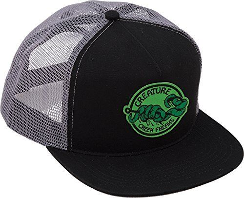 a2c6ded6210 Creature Skateboards Freaks Black Mesh Trucker Hat – Adjustable  One (1) Creature  Skateboards Freaks Mesh Trucker Hat from Creature…