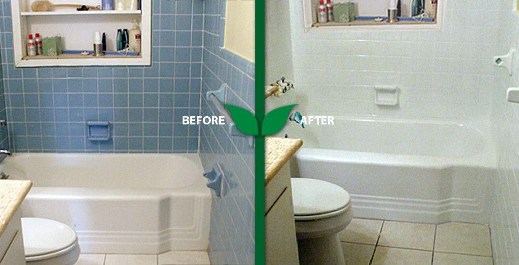 Reglazing Tile In Bathroom Tile Bathroom Bathroom Repair Tub Tile