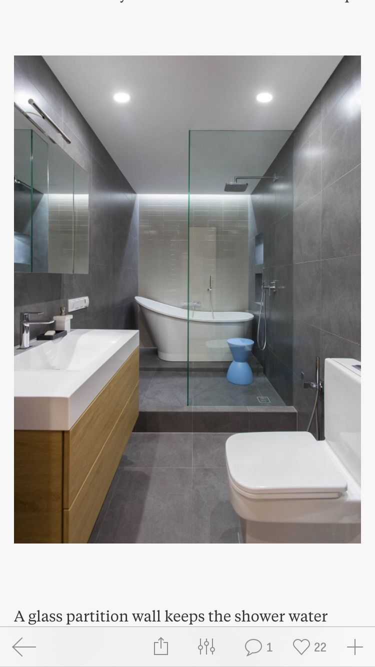 Rectangle Layout Bathroom With Images Bathroom Renovations