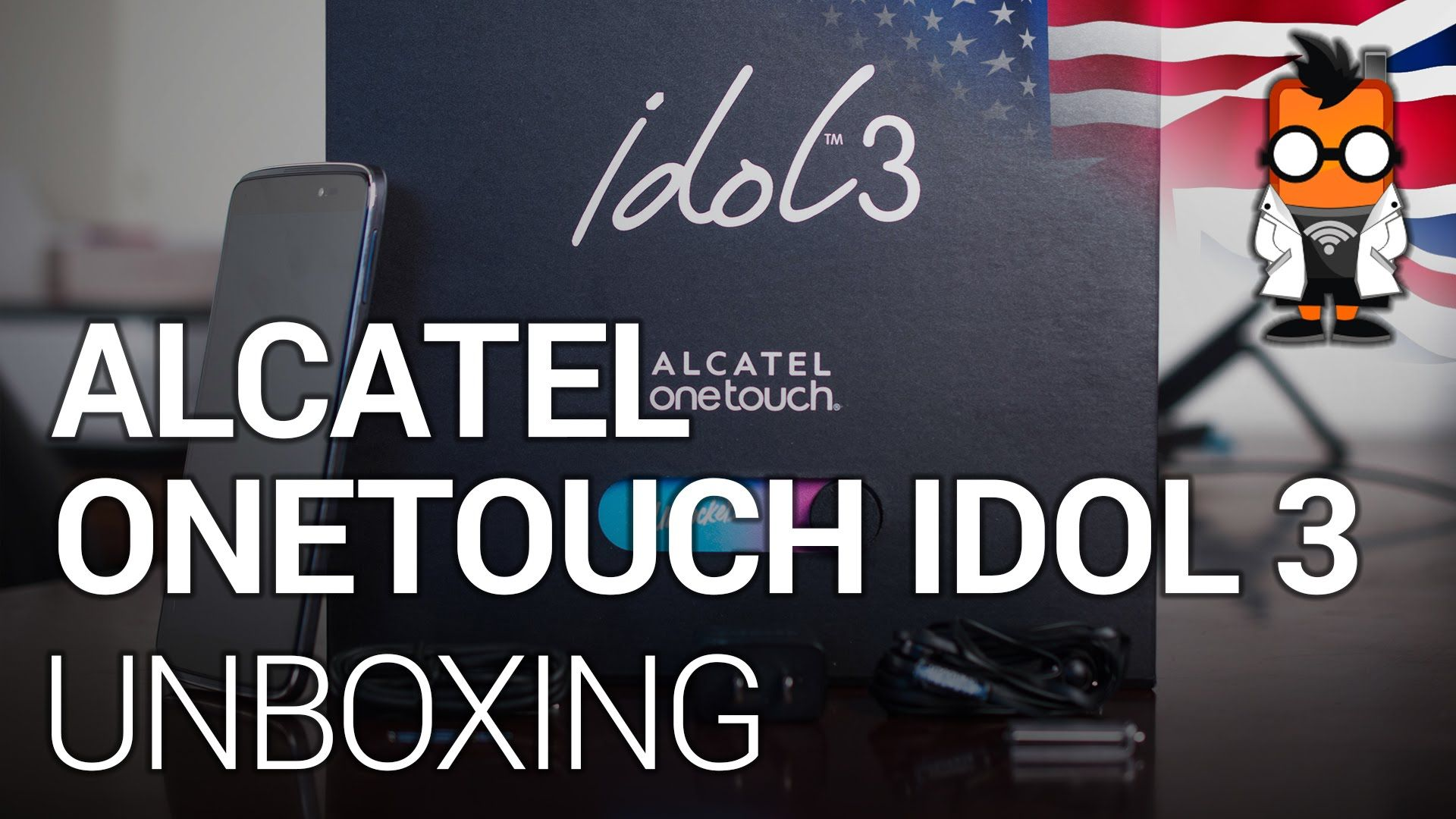 Mobile Geeks unboxes the IDOL 3 unlocked smartphone