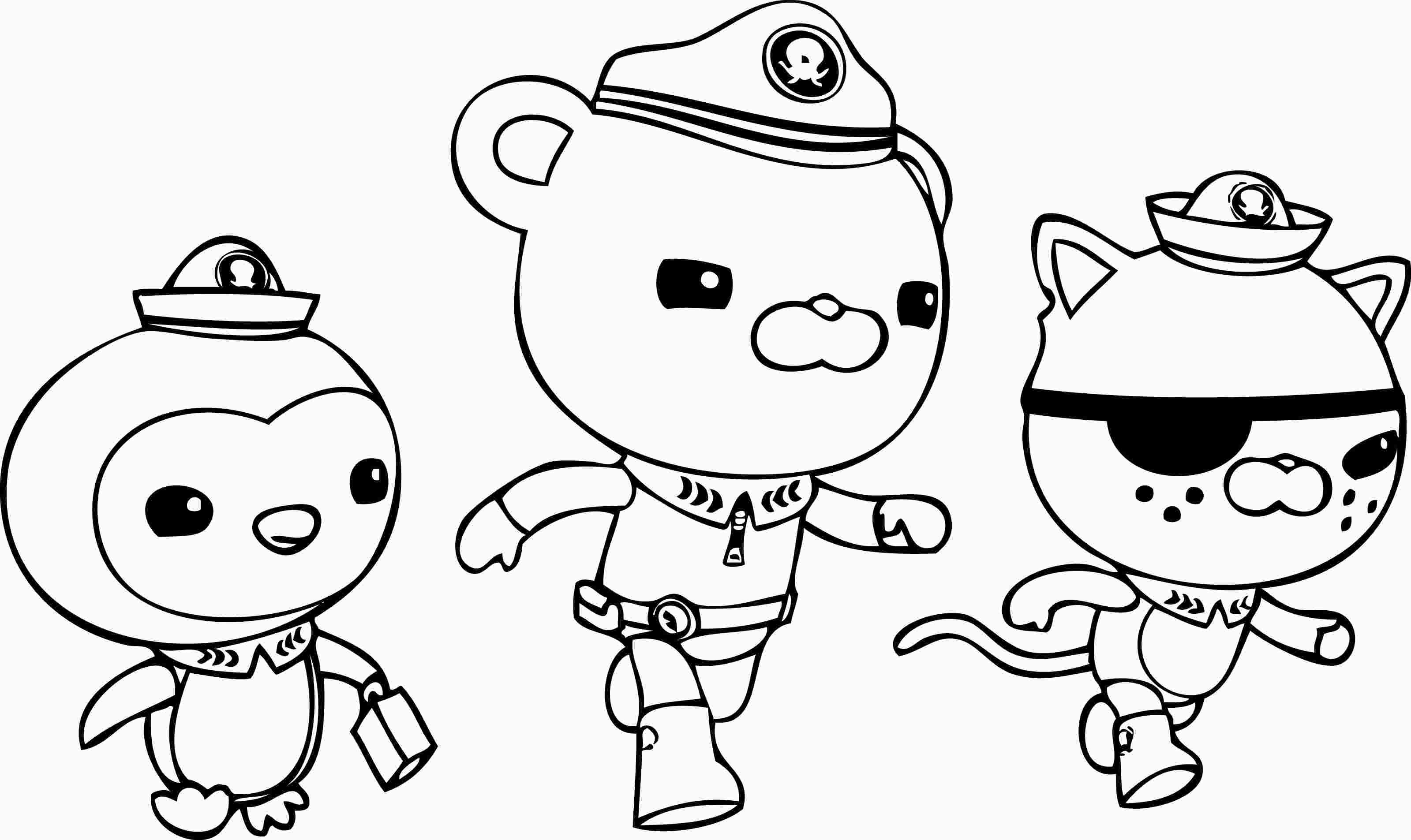 Octonauts Printable Coloring Pages Birthday Coloring Pages Cartoon Coloring Pages Pokemon Coloring Pages