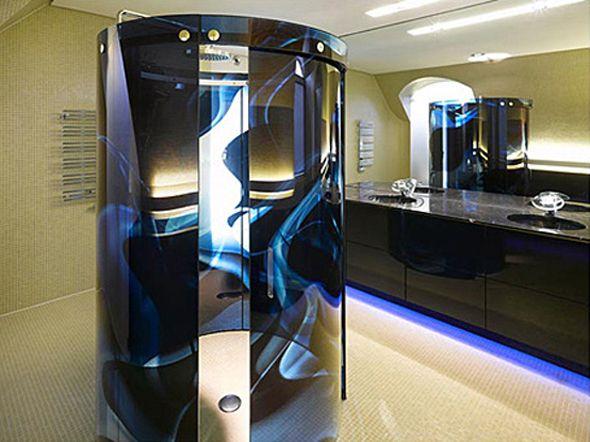 Amazing Interior Design In High Technology Style Luxury