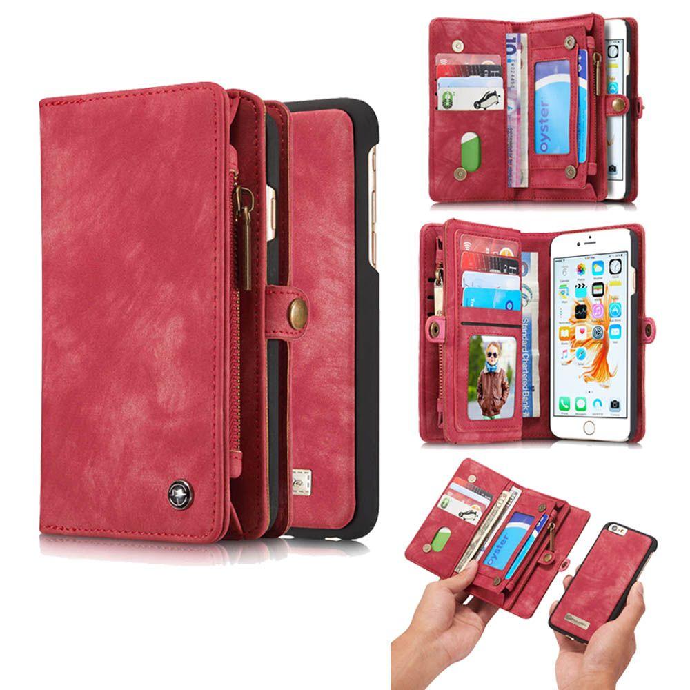 Caseme iphone 66s zipper wallet folio case