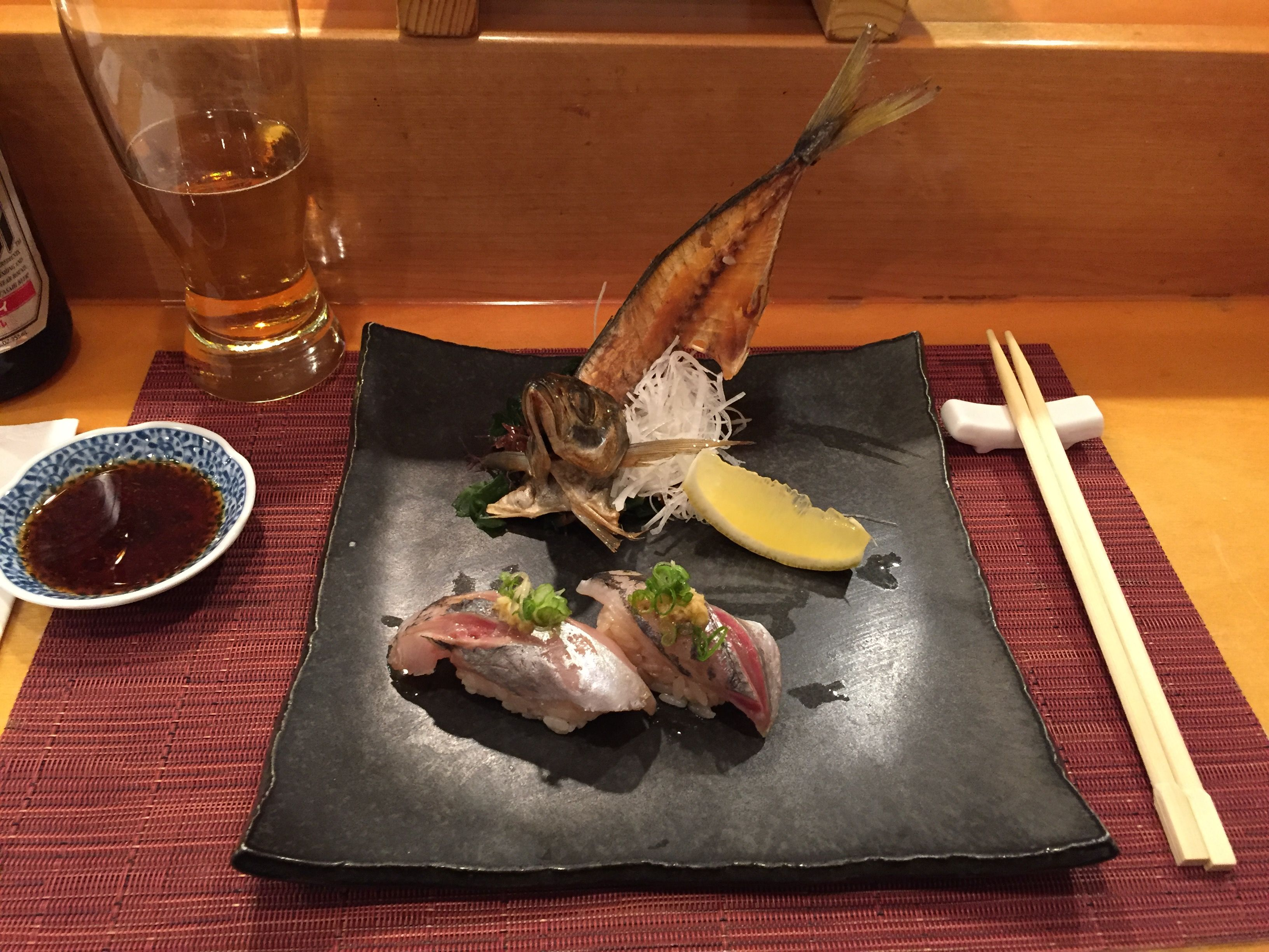 [I ate] Spanish Mackerel Nigiri #recipes #food #cooking #delicious #foodie #foodrecipes #cook #recipe #health