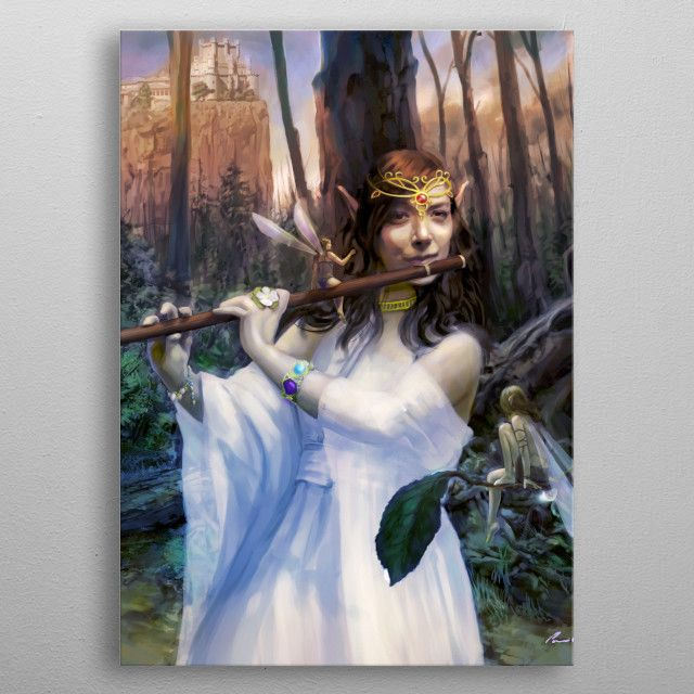 The Faerie Queen by Brans Entertainment | metal posters - Displate | Displate thumbnail