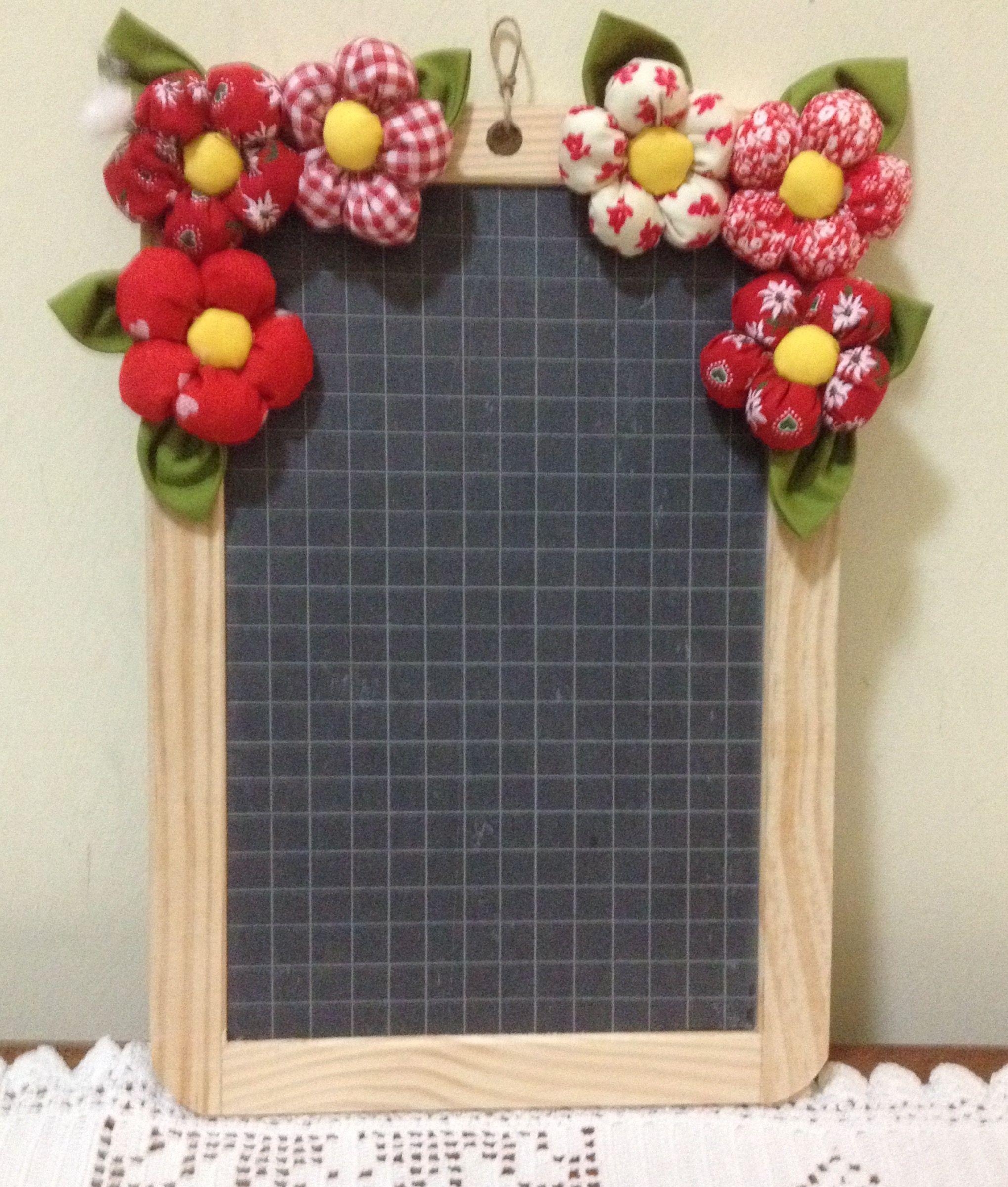 Lavagna decorata per cucina | portaretratos | Lavagnetta, Lavagna e ...