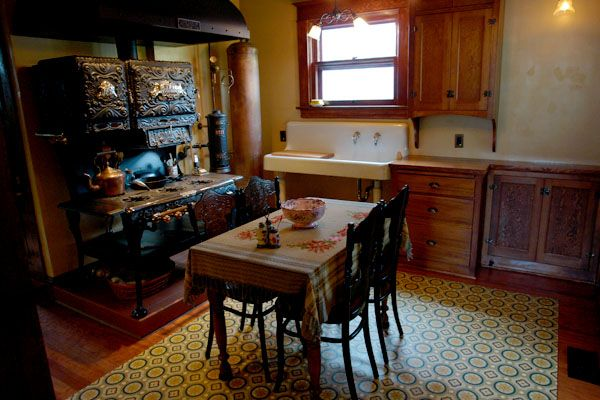 Authentic Victorian Kitchen