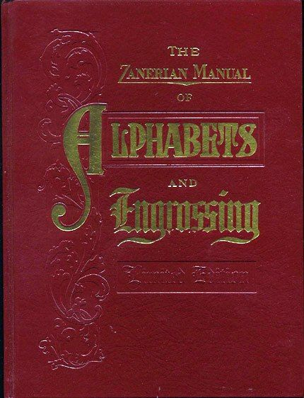 the zanerian manual of alphabets and engrossing calligraphy books rh pinterest com American Manual Alphabet Manual Alphabet and Numbers