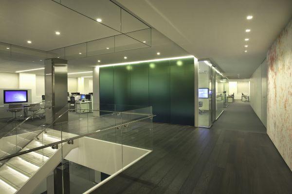 Consolidated Carpet Corporate Office Install featuring @Roberta Setzer Centiva Bella Woven Carpet & Stile Wood Flooring