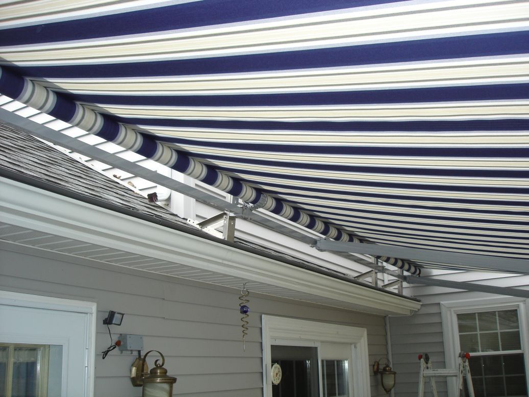 Pin By Christene Patti On Retractable Roof Mount Awning Rolling Shades Outdoor Decor Blinds
