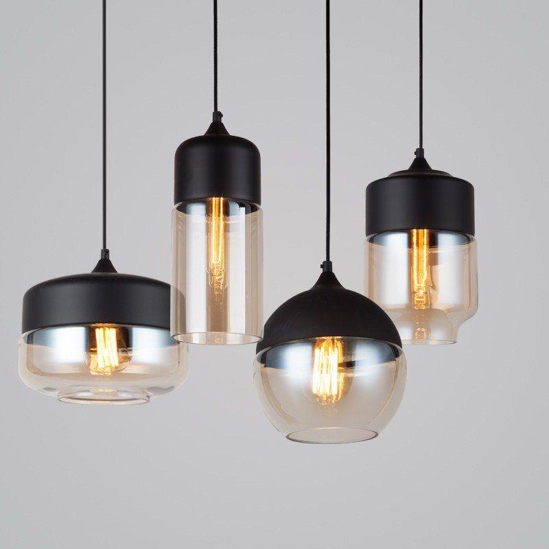 Nordic Hanglampen Glas Hanger Lampen Voor Keuken Woonkamer
