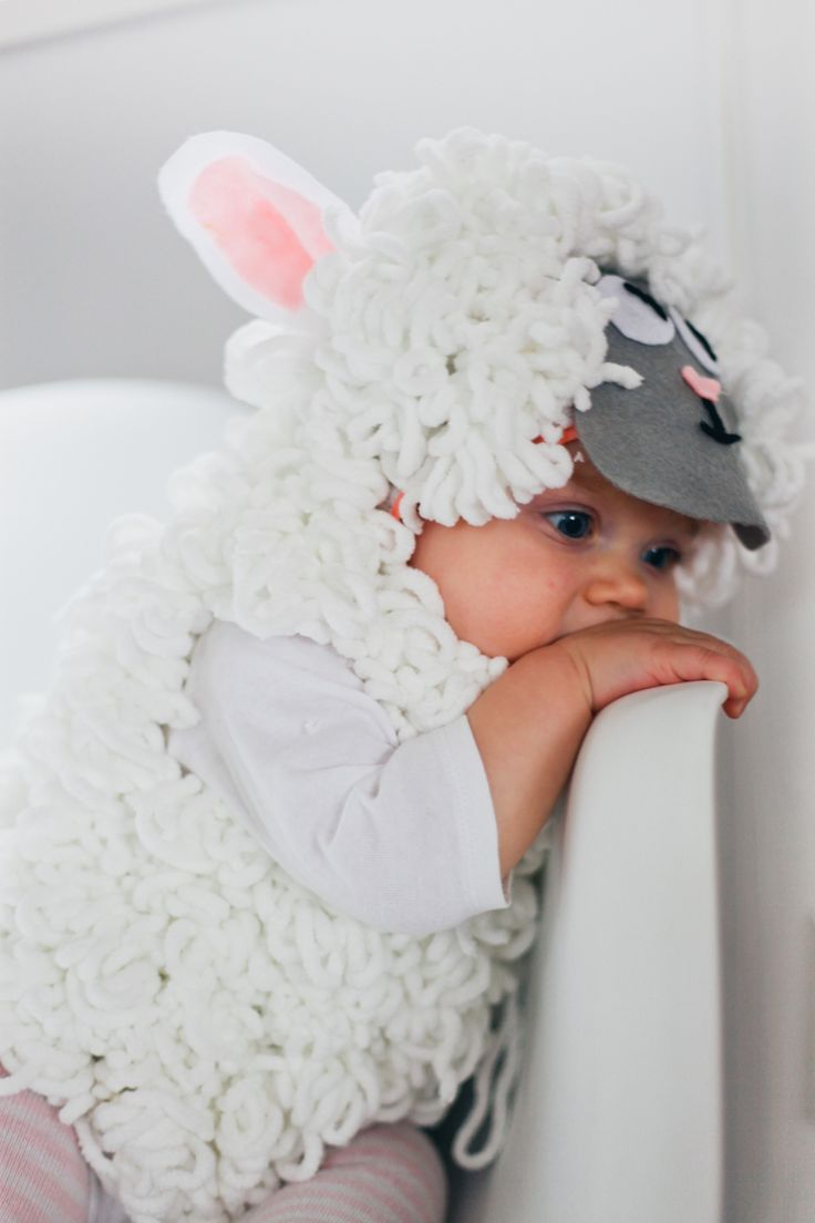 Baby Sheep Costume Costumes Belly Kids