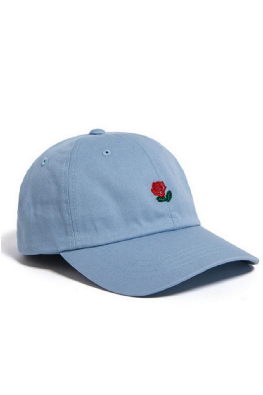 10998d0b Rose Embroidered Hat In Blue. Rose Embroidered Hat In Blue Visors, Polo Hats  ...