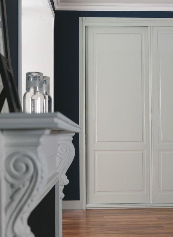 Modelo de #armario Irati con puertas correderas #Decoracion - Modelo De Puertas Corredizas