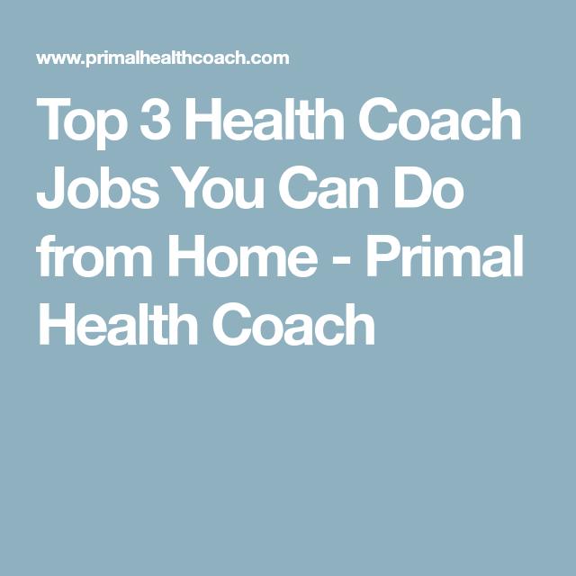blogging top 3 health coach jobs