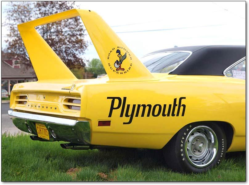 Plymouth roadrunner spoiler