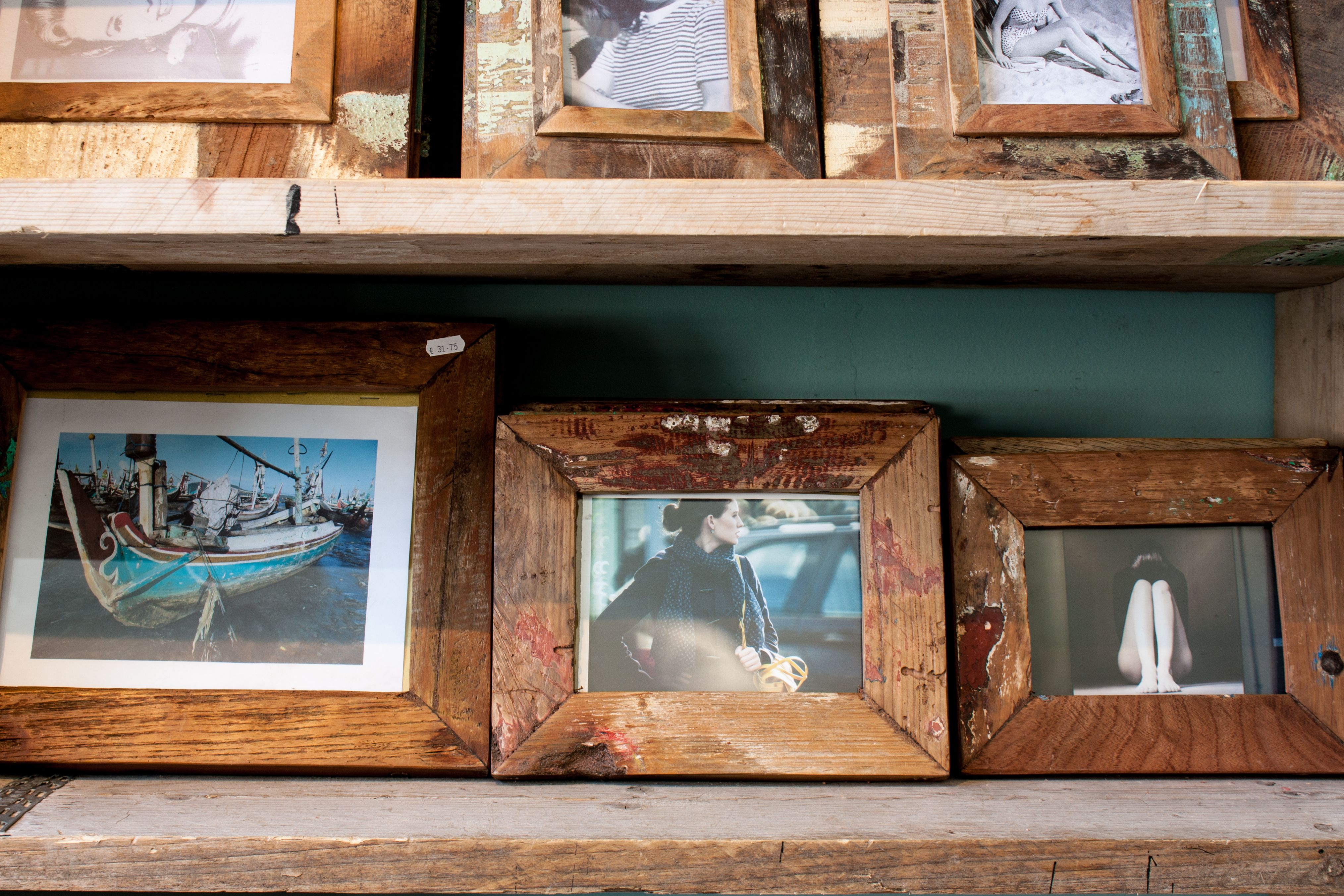 Raw Materials Photo Frames, made of recycled boat wood (from ...