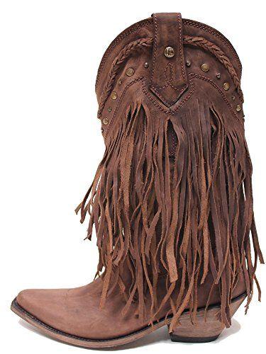 LIBERTY BLACK Fringe Boot Choc T Moro Womens Boots LB-71124 - 9.5 - M LIBERTY BLACK http://www.amazon.com/dp/B009612MSM/ref=cm_sw_r_pi_dp_eZ17vb1TYNNR3
