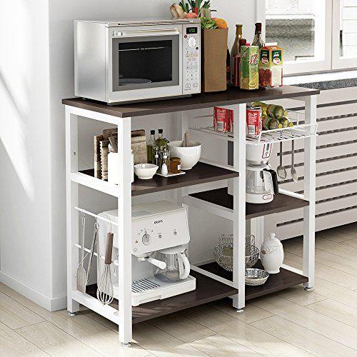 Best Kitchen Cart Soges 3tier Kitchen Bakers Rack Utility