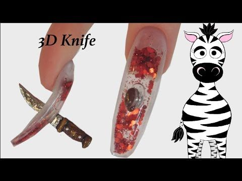"5 ""NO TOOLS"" EASY DIY HALLOWEEN NAIL ART DESIGNS ⭐️SKILL ..."