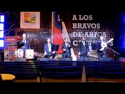 """""""Cuatro Cuartos"""" folk group singing """"Valparaiso"""""""