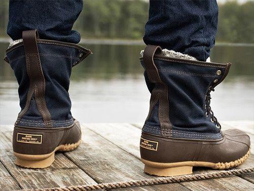 LLBean Duck boots (con imágenes) | Zapatos hombre, Botas