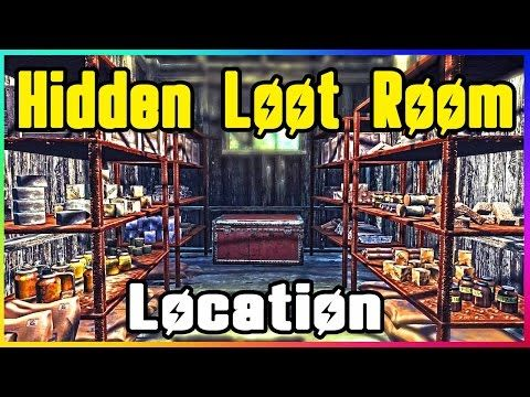 Fallout 4 Hidden Treasures LOOT LOCATION! (Secret Rare item Guide
