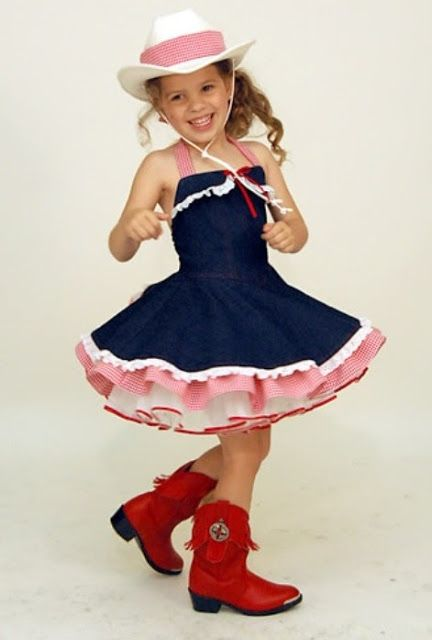 Little Girls Cowgirl Costume