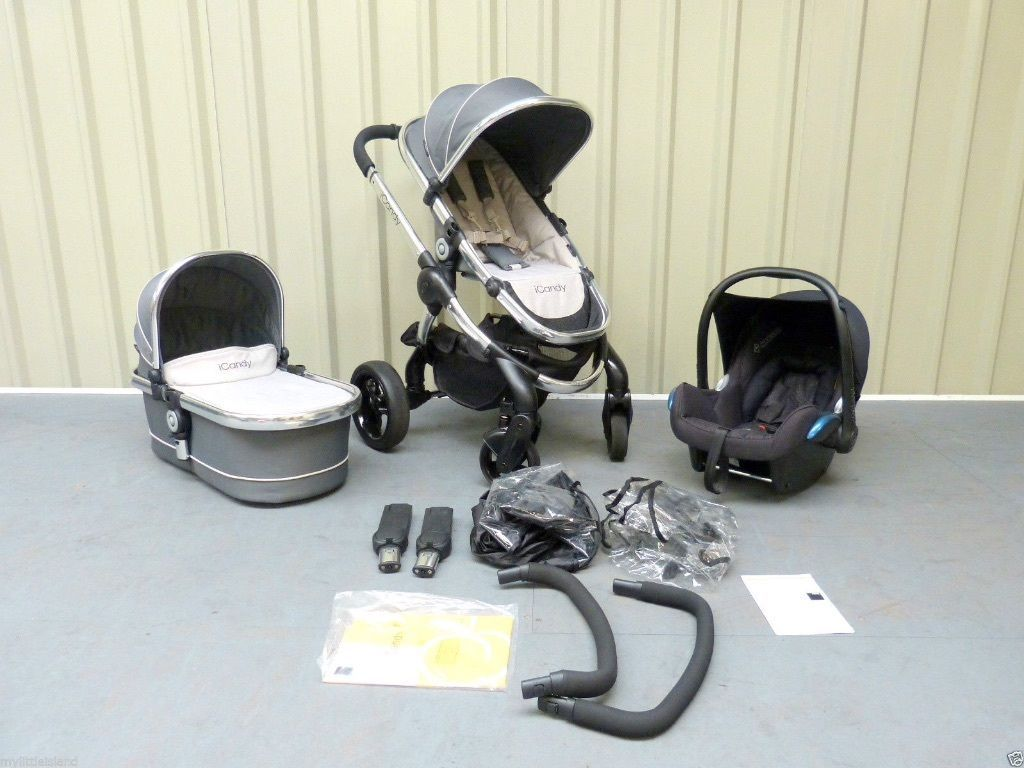 Icandy Peach 3 In Truffle Full Travel System Brighton East Sussex