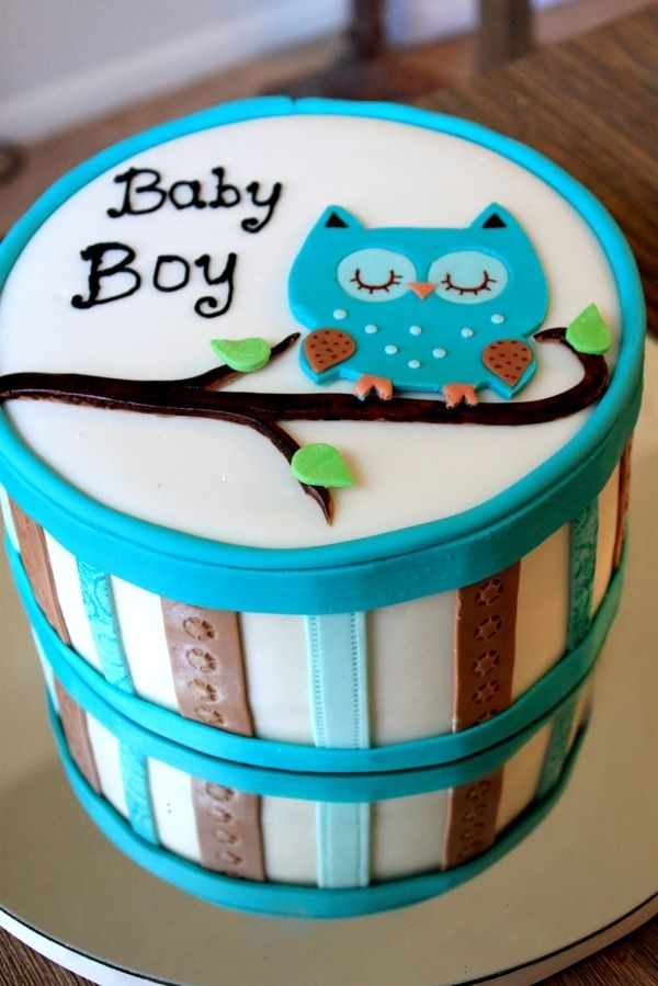 Owl Baby Shower Cake Dreams Cookie Wishes Baby Shower Cakes