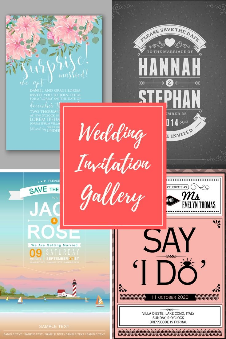 16 Perfectly Personal, Stylish And Cost-Effective Wedding Invitation ...