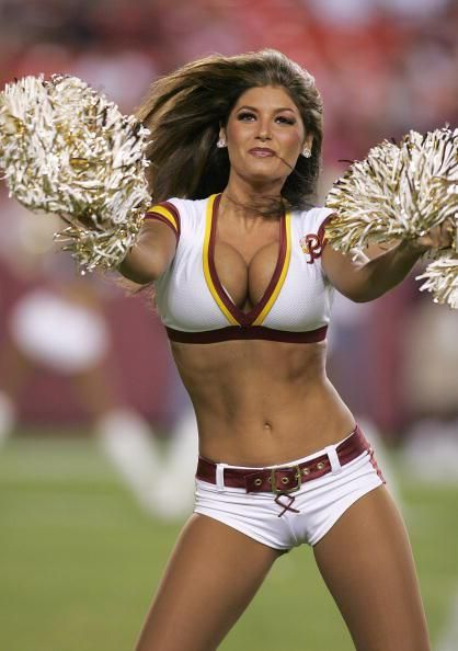 cheerleaders nude redskins Washington