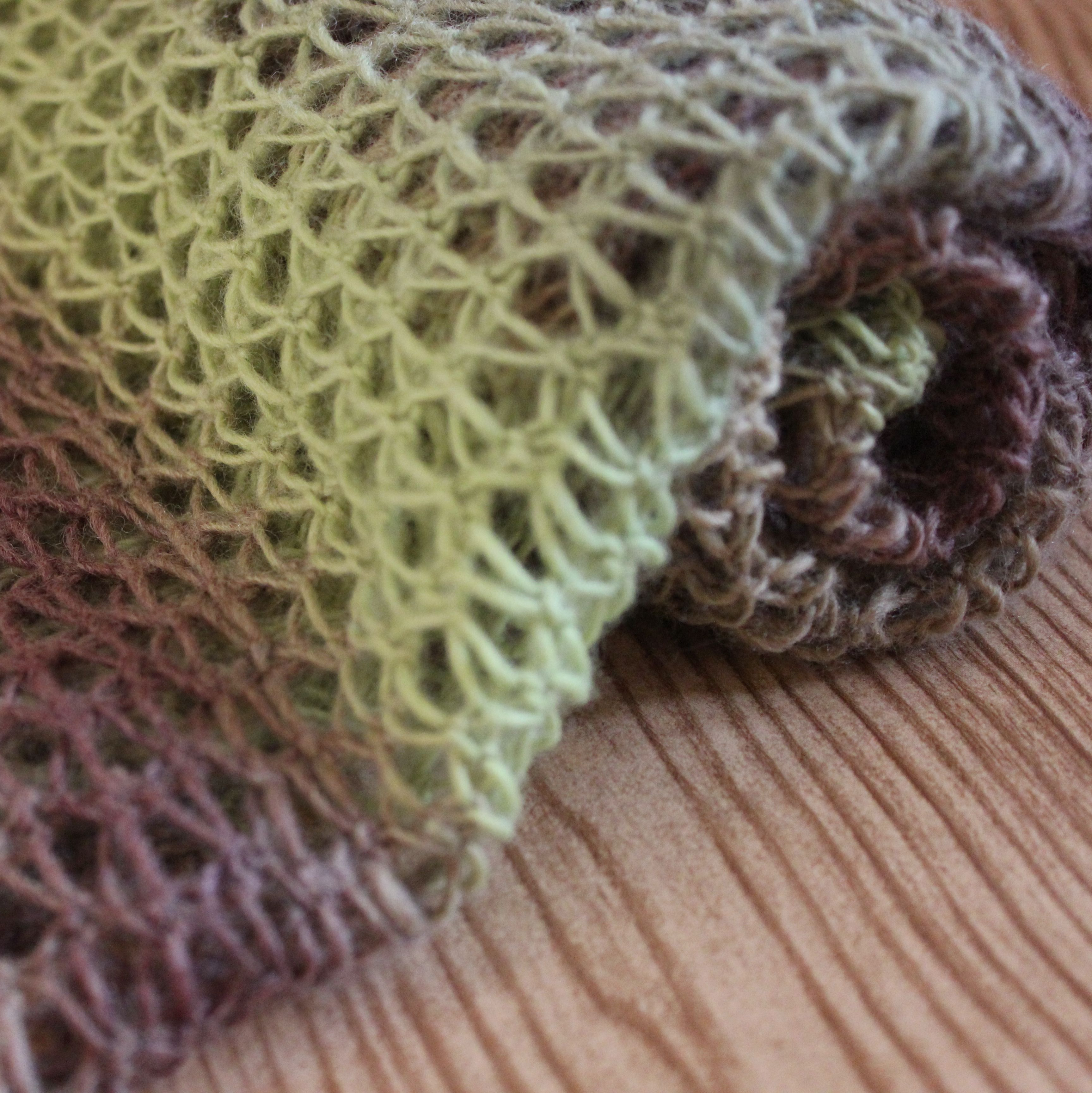 Easy Knitted Lace Wrap - Free Knitting Pattern | Punts tricot ...