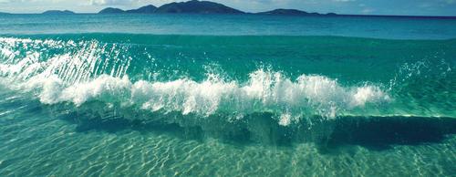 Анимашка море волны на прозрачном фоне