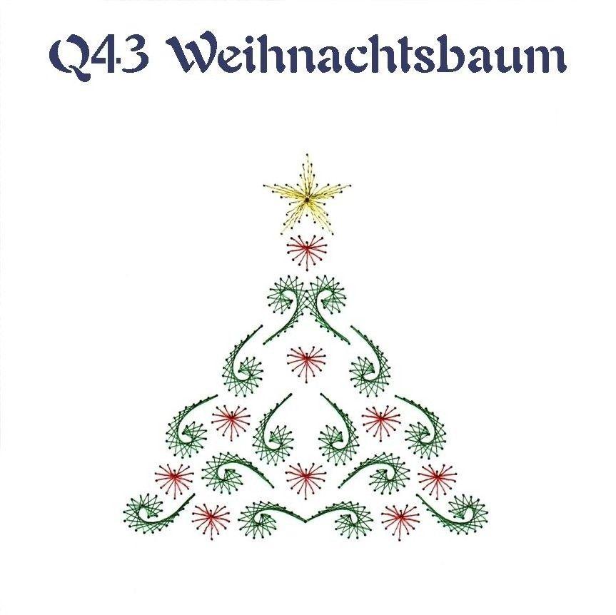 Weihnachtsbaum | Fadengrafik Weihnachten | Pinterest | Tarjetas